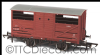 Oxford Rail 76CAT001B BR Cattle Wagon E151872